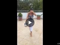 Nadia Comaneci s-a alaturat campaniei Ice Bucket Challenge. Cine sunt cele doua persoane pe care le-a provocat sportiva