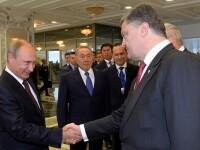 Kiev-ul nu confirma informatiile potrivit carora Putin i-ar fi spus lui Porosenko ca daca vrea trimite trupe la Bucuresti