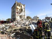 Trei morti si 11 raniti langa Paris, dupa o explozie la un bloc: \