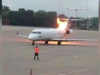 Panica pe un aeroport din Nashville. Un avion cu 53 de oameni la bord a luat foc, la decolare
