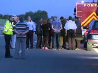 Al doilea accident grav pe Autostrada Soarelui, in 24 de ore. Cinci masini au fost implicate, iar o persoana a fost ranita