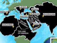 Harta terorista a Statului Islamic, prezentata de un jurnalist BBC. Ce tari ar urma sa fie cucerite de gruparea extremista