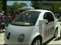 Localnicii din Silicon Valley au avut sansa sa testeze gadgeturi nelansate inca: masina fara sofer si skateboard-ul electric