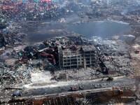 In depozitul de la Tianjin se aflau cel putin 3.000 de tone de produse periculoase. Ce risca locuitorii din zona