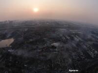 Dezastru: China recunoaste ca in depozitele care au explodat se aflau tone de CIANURA. Pericol de contaminare in metropola