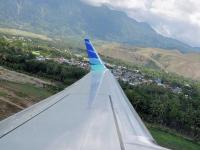 Un avion care participa la turnarea filmului