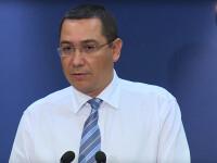 Victor Ponta, despre absenta de la votul Codului Fiscal: