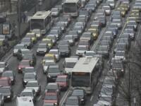 Bucureştiul, primul oraş din Europa în clasamentul TomTom privind blocajele în trafic