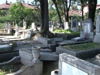 Cine sunt cei doi vandali care au devastat un cimitir din Cluj. Imaginile de pe camerele de supraveghere i-au dat de gol