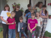 Lectia de viata, oferita de o familie nevoiasa din Targoviste, cu 10 copii.