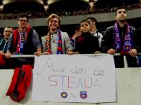 Disperarea suporterilor de a vedea Steaua fara Becali: \