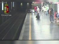 S-a aruncat in fata metroului dupa o cearta cu fostul iubit si a fost salvata in ultima clipa. Cine sunt cei doi eroi