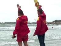 Tragedie pe litoral. Doi barbati s-au aventurat in mare, pe doua bucati de polistiren, dar au pierit luati de valuri