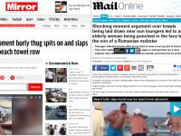 Povestea turistei agresata pe o plaja din Mamaia a ajuns in tabloidele britanice.