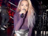 Rita Ora, cea mai indrazneata tinuta purtata pana acum. Cum a aparut intr-un club din Los Angeles