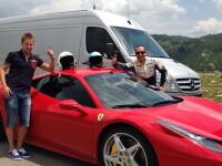 Dosar penal pentru fiul unui milionar din Craiova, din TOP 300, dupa ce a fost prins fara permis la volanul unui Ferrari