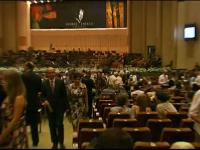 A inceput festivalul George Enescu, cel mai mare de acest fel din Europa de Est. Ce invitati au participat in prima seara