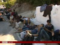 Insula din Grecia unde numarul imigrantilor l-a dublat pe cel al localnicilor. Oamenii dorm pe strazi sau pe terase