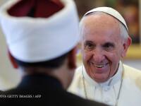 Papa ar putea fi urmatoarea tinta a ofensivei anti-crestine declansata de ISIS. Liderul musulman care va muri impreuna cu el