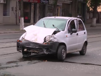 Accident in Capitala, dupa ce un tanar ar fi