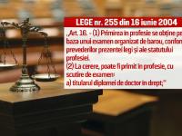 Victor Ponta ar putea fi exclus din avocatura, dupa pierderea titlului de doctor.