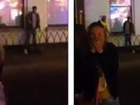 Imagini terifiante la un festival. Ce a urmat dupa ce un pitbull agresiv a muscat un barbat de zona genitala: VIDEO