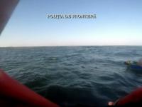3 barbati au ramas in largul marii cu barca, dupa ce li s-a defectat motorul. Salvamarii din Eforie Nord au intervenit rapid