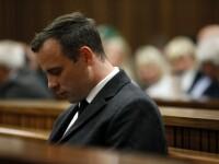 Pistorius, inchis pentru ca si-a ucis iubita in urma cu trei ani, a fost dus la spital cu rani la incheieturile mainilor