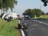 Roman mort intr-un accident grav in Ungaria. Motocicleta lui a luat foc dupa impactul cu un microbuz