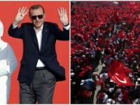 Un milion de turci pe strazile din Istanbul, la apelul lui Erdogan: Daca poporul cere pedeapsa cu moartea, o introducem