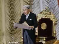 Imparatul Japoniei a anuntat intr-un mesaj video ca e pregatit sa abdice. Mesajul transmis catre poporul japonez