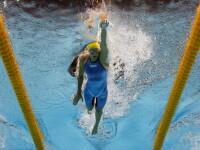 Sarah Sjostrom, din Suedia, la proba de 200 metri liber, la natatie, la JO 2106 de la Rio