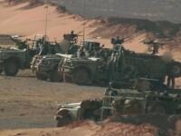 trupe britanice in Siria - BBC