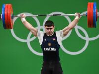 Accidentare grava la Jocurile Olimpice. Cotul unui sportiv a cedat in momentul in care a ridicat o haltera de 195 de kg