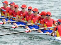 RIO 2016: programul sportivilor romani de sambata. Echipajul feminin de 8+1 a cucerit medalia de bronz