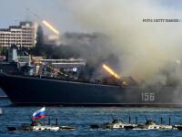 Fortele militare ale lui Putin fac o demonstratie de forta in Mediterana. Rusii au, pentru prima data, avioane invizibile