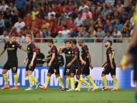 Steaua - Manchester City 0-5. Steaua rateaza practic grupele Champions League, dar va juca in Europa League
