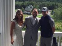 Surpriza uriasa de care a avut parte un cuplu chiar in ziua nuntii. Cine a aparut pe neasteptate sa isi faca o poza cu ei