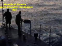 Urmarire intre Paza de Coasta si traficantii de droguri, in Italia. Cate sute de kilograme de marijuana transportau