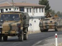 Turcia reia operatiunile in Siria, impotriva ISIS. Alte zece tancuri si peste 300 de soldati au intrat pe teritoriul sirian