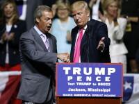 Dupa Brexit, Nigel Farage il sustine pe Donald Trump: