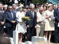 Ceremonii emotionante in Belgia. Printul William si ducesa de Cambridge, pezenti la comemorarea soldatilor morti in razboi