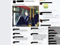 Au crezut ca scaunele goale din autobuz sunt musulmane care poarta burka. Cum s-au facut de ras nationalistii norvegieni