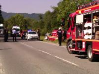 Accident grav în apropiere de Predeal: 3 persoane au murit