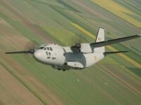 Armata a trimis, în premieră, o aeronavă Spartan la incendiul de pădure din Mehedinți