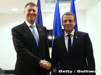 Emmanuel Macron vine joi în România. Programul vizitei