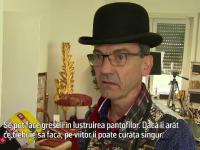 Povestea lui Thomas, lustragiul care curăță pantofii trecătorilor în Frankfurt