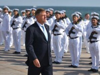Iohannis, la Ziua Marinei: Un stat nu poate fi puternic dacă nu se poate apăra