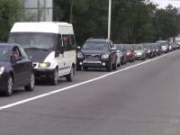 2.000 de șoferi deveniți pietoni de Sf. Maria. Aglomerație infernală la întoarcearea acasă