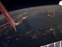 Imagini uimitoare de pe Stația Spațială Internațională. Ce a filmat un cosmonaut rus